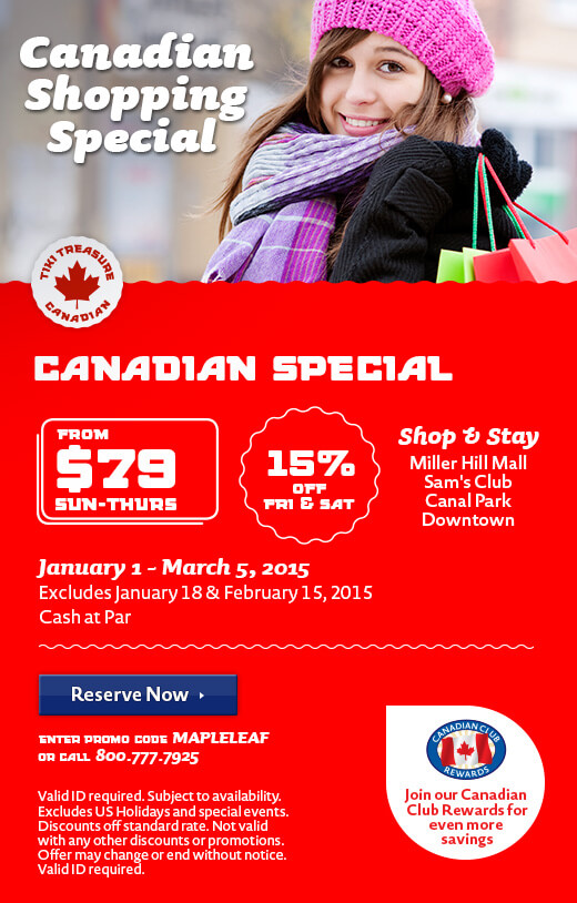 Canadian Shopping Special - Winter
