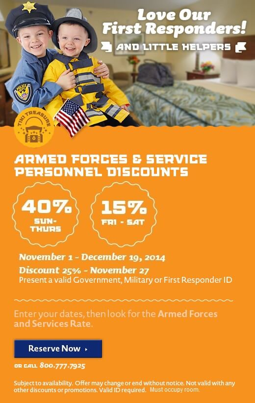 Armed Forces & First Responders Discount - Love Our Troops!