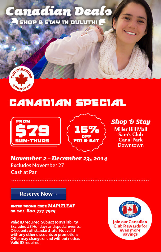 Exclusive Canadian Deals - Winter
