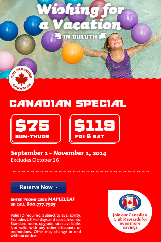 Exclusive Canadian Deals - Fall