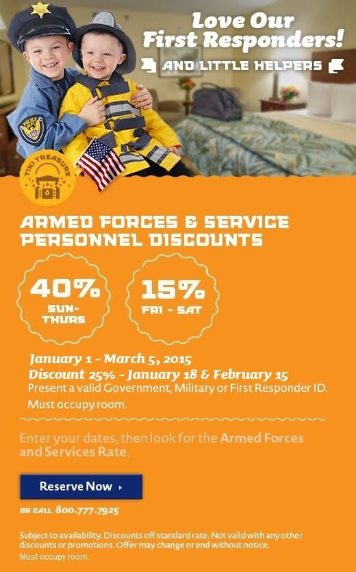 Armed Forces & First Responders Discount – Winter Deals for our troops!