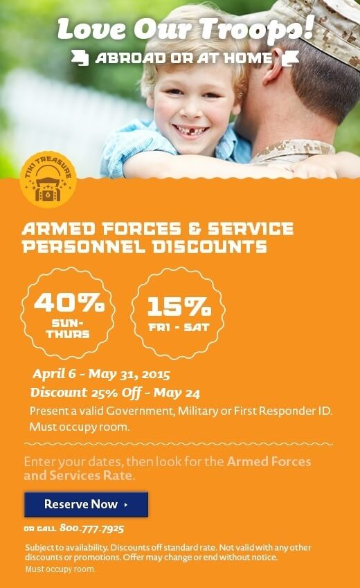 Armed Forces & First Responders Discount - Spring
