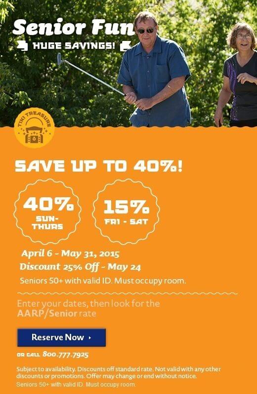 Senior Savings - Spring