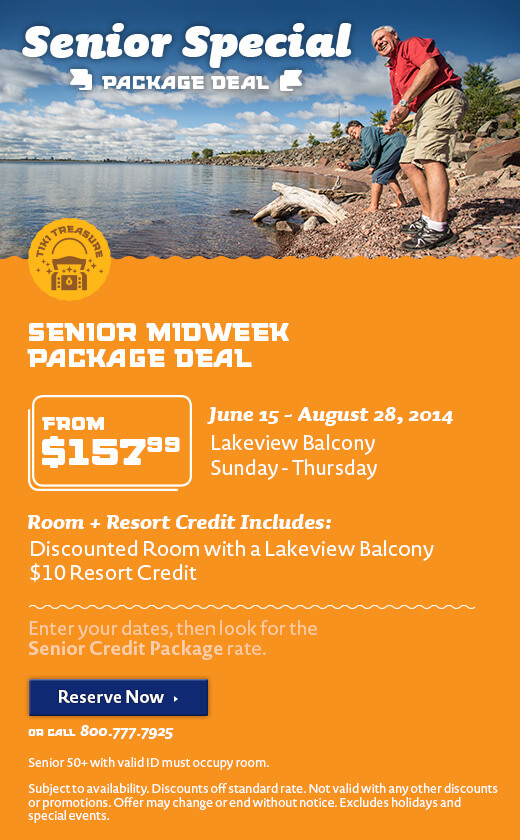 Senior Resort Credit Package - Summer
