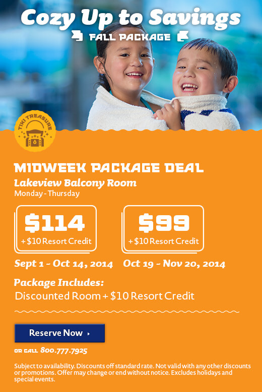 Fall Hotel Package