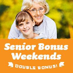 Senior Bonus Weekends