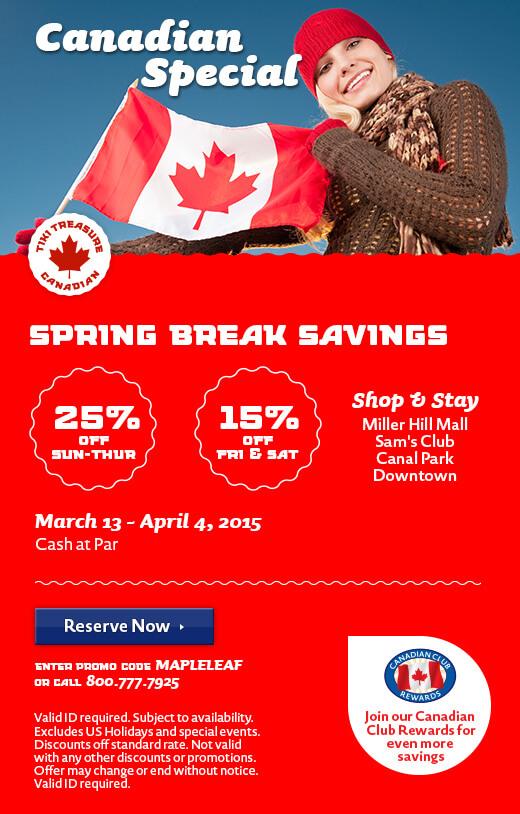 Canadian Spring Break