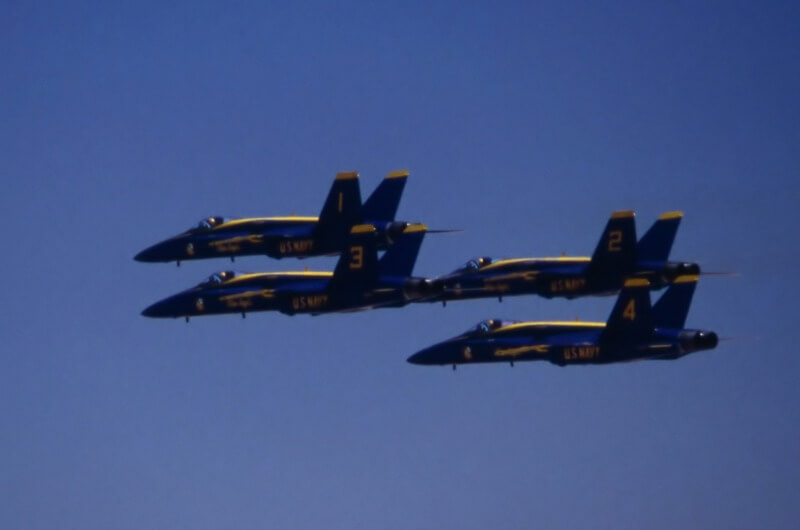 Duluth Air Show - Blue Angels