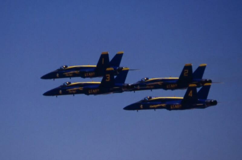 Duluth Air Show - Blue Angels