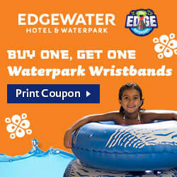 Buy One Get One Waterpark Wristbands - Print Coupon