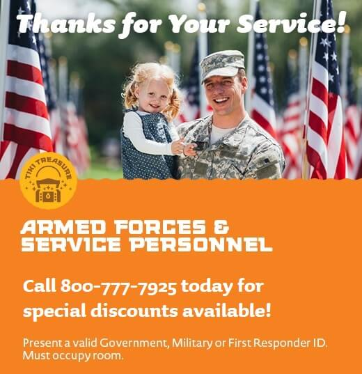 Armed Forces & First Responders Discounts Available