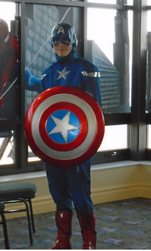 Superhero Weekend - Captain America returning