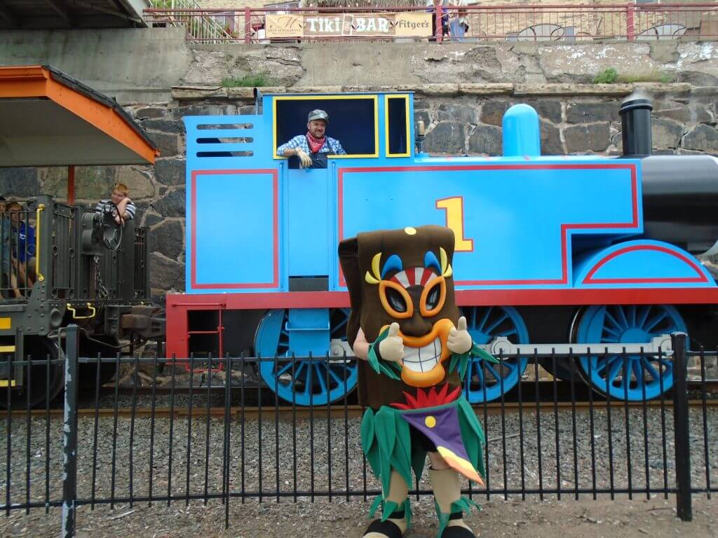 Thomas the Train Packages at the Edge